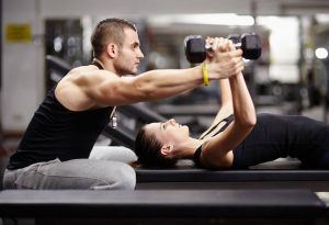 health dumbell muscle fit 074K1