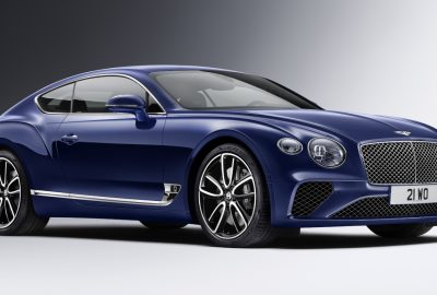 The All-new Bentley Continental
